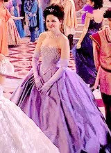Watch and share Snow Ball Gown Ouat GIFs on Gfycat