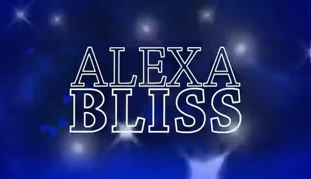 Watch and share 2017: Alexa Bliss Entrance Video (Official Titantron) GIFs on Gfycat
