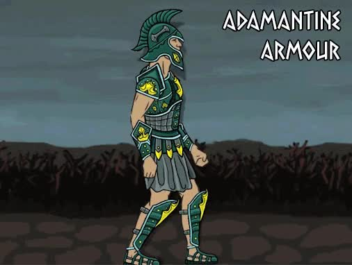 Watch and share Adamantine Armour GIFs by Mega Dwarf on Gfycat
