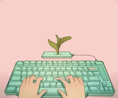 Watch this author GIF by GIF Queen (@ioanna) on Gfycat. Discover more author, flower, keyboard, nature, pink, tech, type, typing, writing GIFs on Gfycat