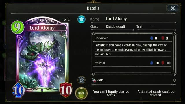 Watch and share Shadowcraft GIFs and Shadowverse GIFs on Gfycat