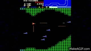 Watch and share Vanguard Loop1 1981 SNK Mame Retro Arcade Games GIFs on Gfycat