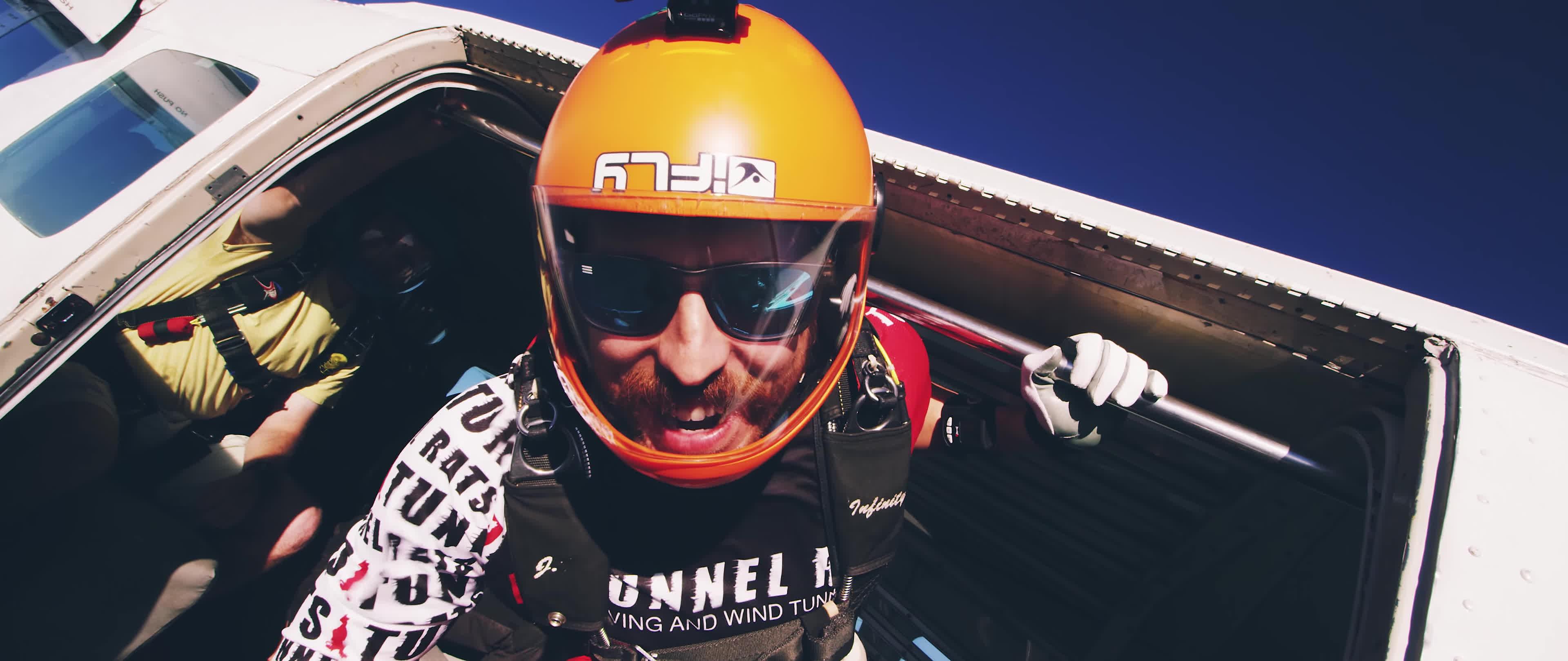 sky diving, skydive, skydiving, FREE FALL   Skydiving in 4K GIFs