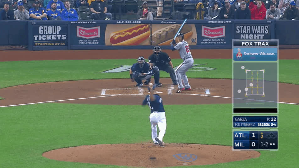 Atlanta Braves, Milwaukee Brewers, baseball, Saber GIFs