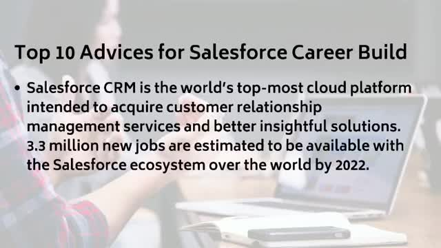 Watch Top 10 Advices for Salesforce Career Build GIF by Mamu Mamatha (@vamshi) on Gfycat. Discover more BestSalesforcetrainingInstitute, Education, SalesforceApexQandA, SalesforceTOPtrainingInstitute, Salesforceguidenceforfresherorexperienced, SalesforceonlineQandA, Salesforceonlinetraining, Salesforceonlinevideos, ajay. chinna GIFs on Gfycat
