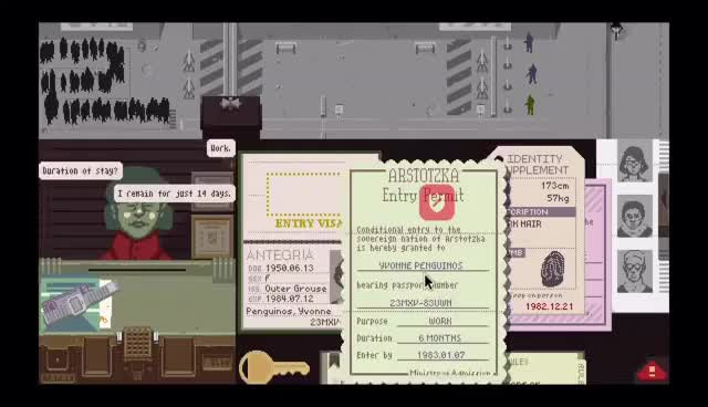 Watch and share Internal Terrorist Attack - SB Plays Papers Please [ep13] GIFs on Gfycat