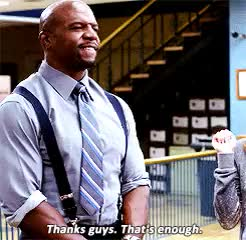 Watch and share Brooklyn Nine Nine GIFs and Terry Jeffords GIFs on Gfycat