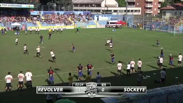 Watch WUCC 2014 | San Francisco Revolver vs Seattle Sockeye (Open Final) (reddit) GIF on Gfycat. Discover more related GIFs on Gfycat