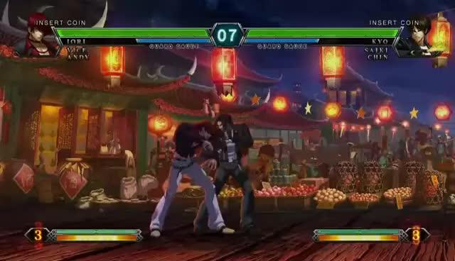 fof, games, neomax, Iori KOF XIII Neo Max GIFs