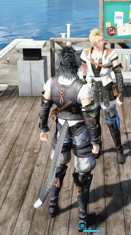 Watch and share FF15-Tail GIFs on Gfycat