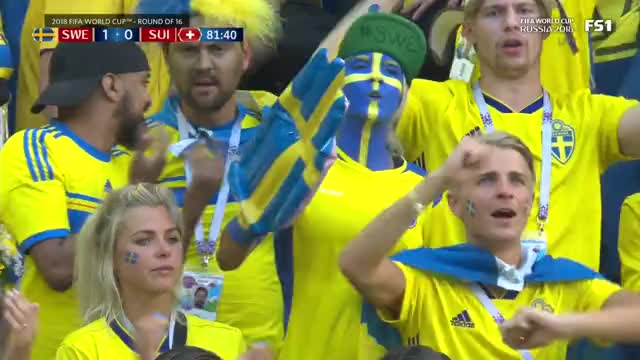 Watch swedish fans GIF on Gfycat. Discover more related GIFs on Gfycat