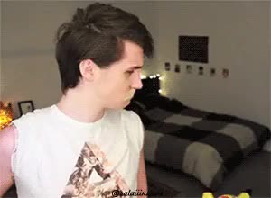 Watch and share Changing Hair GIFs and Dan Howell GIFs on Gfycat