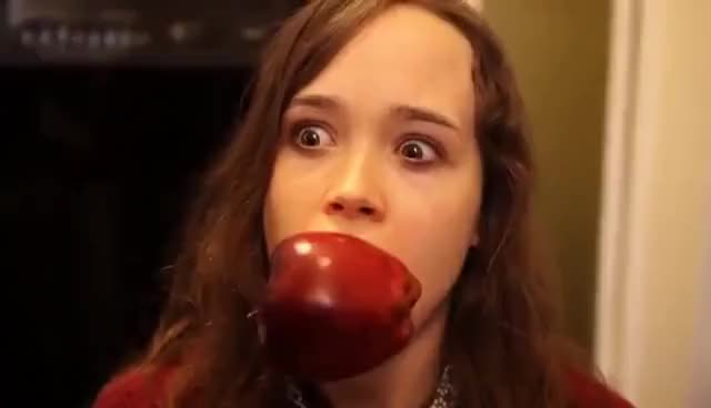 Watch and share Ellen Page GIFs and Apple GIFs on Gfycat