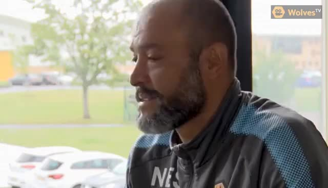 Watch and share Nuno Espírito Santo Speaks Ahead Of Middlesbrough Game GIFs on Gfycat