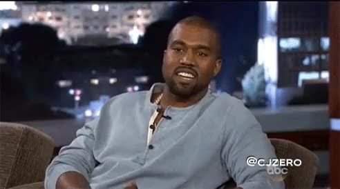Watch and share Kanye Laughing GIFs on Gfycat