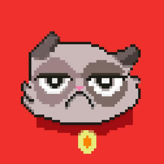 Watch and share Gato-molesto-gif By Nikelvin GIFs on Gfycat