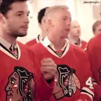 Watch and share Trevor Van Riemsdyk GIFs and Chicago Blackhawks GIFs on Gfycat