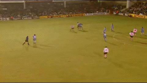 Watch and share Matt Le Tissier. Southampton - Newcastle. 18.01.1997 GIFs by fatalali on Gfycat