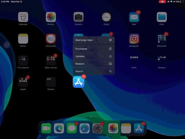 Watch and share IPad-OS-Dock GIFs on Gfycat