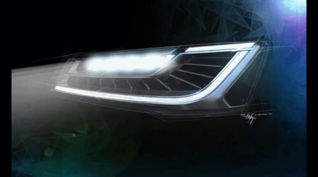 Watch and share 2015 Audi A8 LED Headlight Animation GIF GIFs on Gfycat
