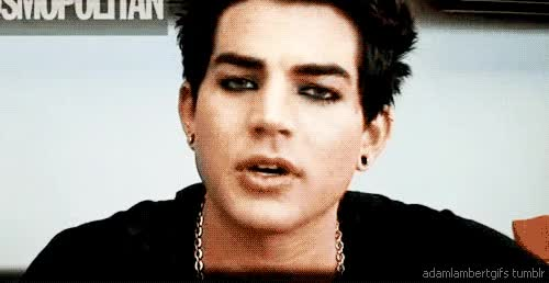 Watch this trending GIF on Gfycat. Discover more adam lambert GIFs on Gfycat