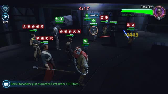 Watch Vader lead vs Krennic lead — Star Wars Galaxy of Heroes Forums GIF on Gfycat. Discover more related GIFs on Gfycat