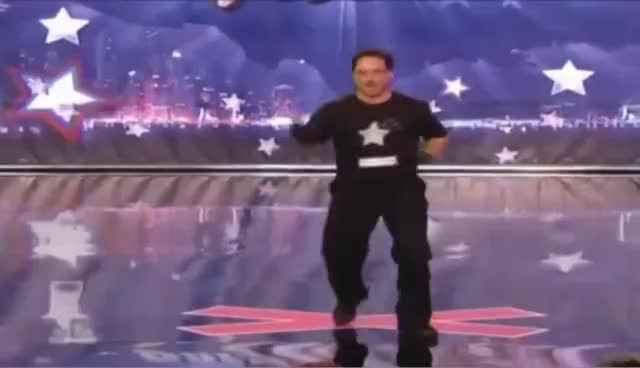funny, agt somersault GIFs