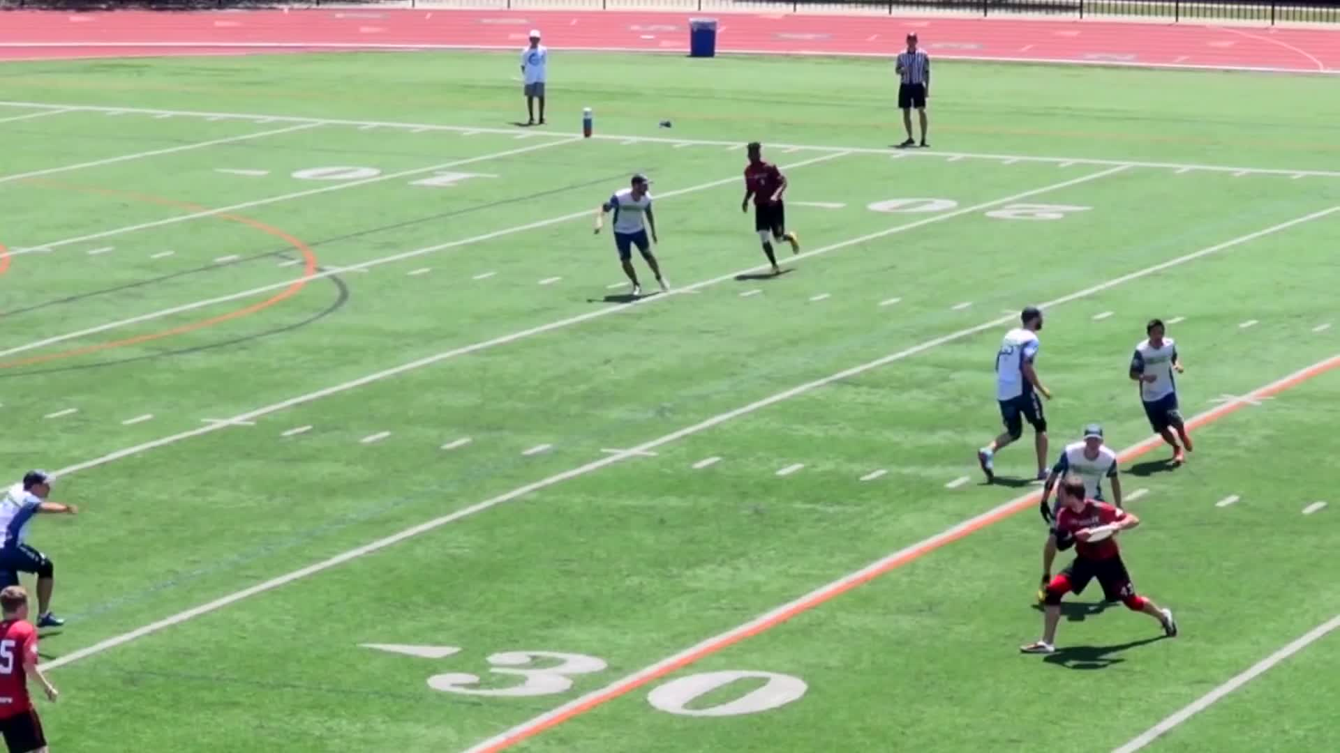 american ultimate disc league, audl, ultimate, ultimate frisbee, Full Extension Diving Goal GIFs
