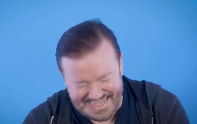 Watch this funny GIF by Grower of GIFs (@gifgrower) on Gfycat. Discover more can, celebs, cry, epic, gervais, ha, haha, hehe, hilarious, i, joke, joking, laugh, lol, loud, out, ricky, ricky gervais, say, this GIFs on Gfycat