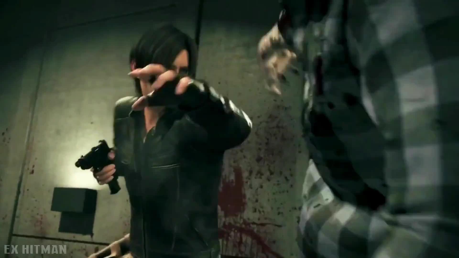 Leon Vs Zombies John Wick Style Gun Fight Resident Evil