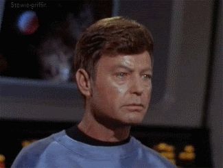 deforest kelley, william shatner, melafo GIFs