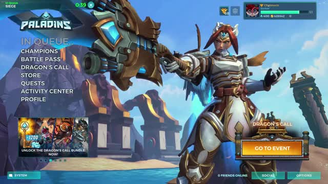 Watch and share Paladins (64-bit, DX11) 11-9-2018 19 22 58 GIFs by chirimorin on Gfycat