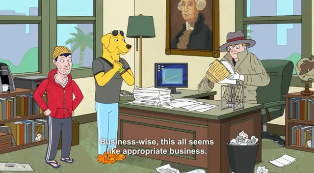 """Watch """"Everything is a .gif, you are literally a .gif"""", an album (some spoilers) : BoJackHorseman GIF on Gfycat. Discover more related GIFs on Gfycat"""