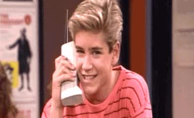 Watch and share Zack Morris Phone GIFs on Gfycat