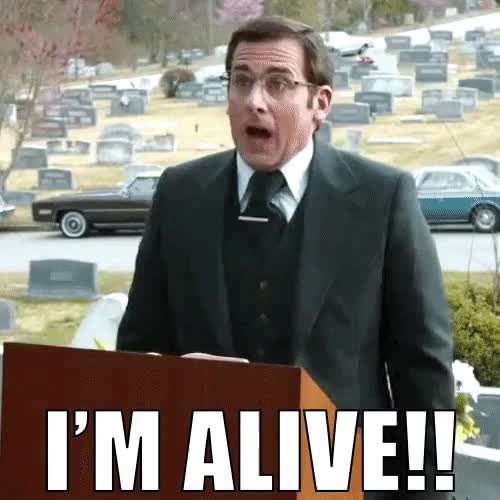 Watch and share I'm Alive GIFs on Gfycat