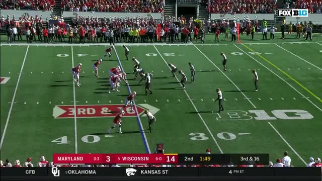Watch and share FFFF MD Def07 - 22 So Bad, LBs Activate On Center GIFs by Seth Fisher on Gfycat