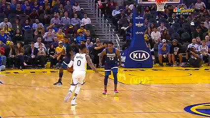 Watch and share D'Angelo Russell — Golden State Warriors GIFs by Off-Hand on Gfycat