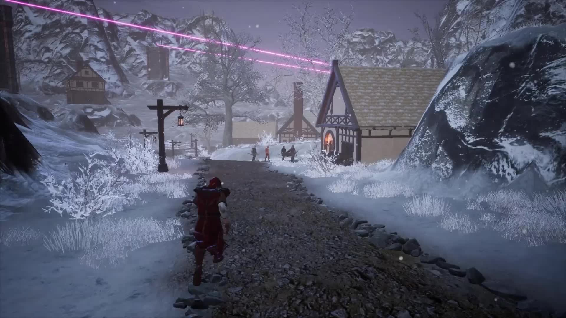 Fictorum, gamephysics, games, gaming, Who says mages need to keep their distance? GIFs