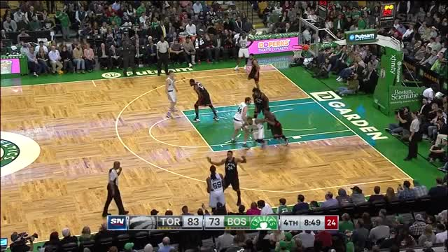 Watch and share Toronto Raptors  Boston Celtics (09.12.2016) GIFs on Gfycat