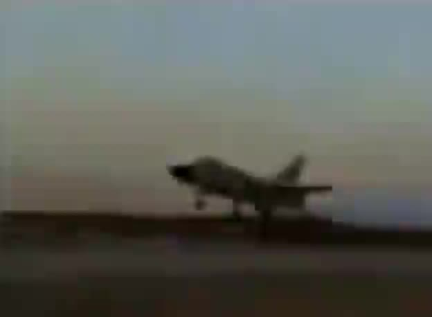 Watch Iranian SU-24 Fencer experiences engine problems while landing and repeatedly bounces along the runway before exploding GIF by tothetenthpower (@tothetenthpower) on Gfycat. Discover more related GIFs on Gfycat