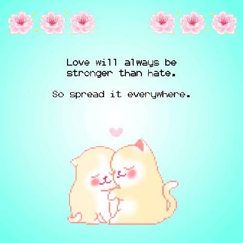 Watch and share Subversive Kawaii GIFs and Love One Another GIFs on Gfycat