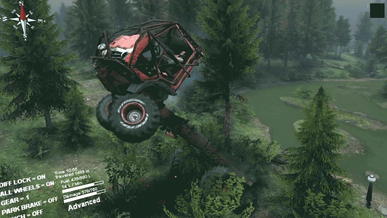 spintires, Stuck on my frame. GIFs
