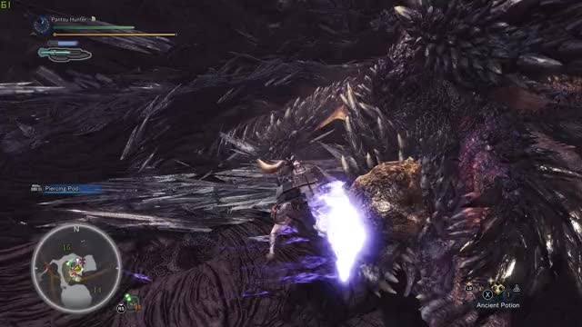 Watch MHW Nergi SwagAxe GIF by @moistkitten on Gfycat. Discover more related GIFs on Gfycat