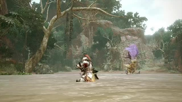 Watch and share Greatsword Teaser - Monster Hunter Rise GIF GIFs by ringating on Gfycat