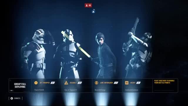 Watch ThatsFUBAR playing STAR WARS™ Battlefront™ II GIF by @thatsfubar on Gfycat. Discover more related GIFs on Gfycat