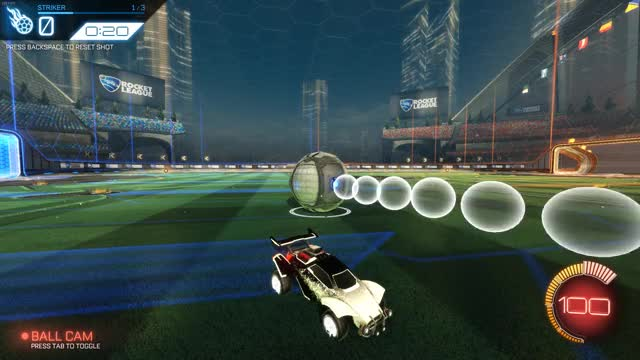 Insane flip reset to double touch
