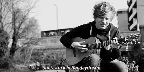 Watch and share Black And White Gif GIFs and A Team Ed Sheeran GIFs on Gfycat