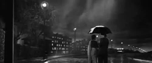 Watch and share Monsoon-5-walk-rain-umbrella-raj-kapoor-nargis-pyar-hua-ikrar-hua GIFs on Gfycat