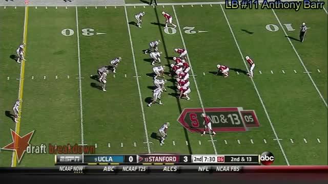 Anthony Barr vs Stanford (2013) (reddit)