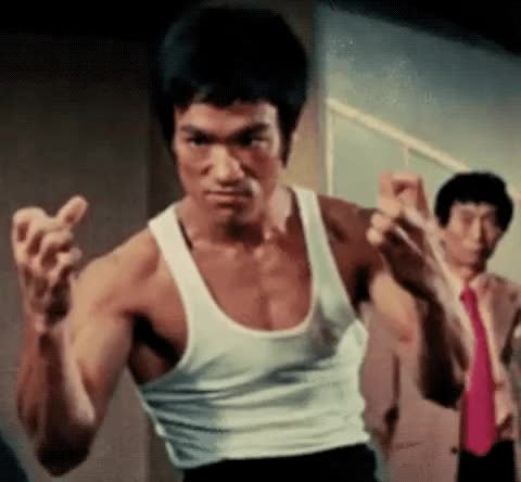 Watch this angry GIF by The GIF Smith (@sannahparker) on Gfycat. Discover more angry, bruce lee, clenched fist, li xiaolong, mad, triggered GIFs on Gfycat